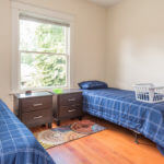 spacious bedroom at Crestview Recovery Centers drug and alcohol rehab facilities